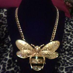 Jewelry - Aurora Borealis Gold Honey Bee Set